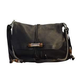 Grained leather Handbag-0