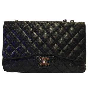 Timeless perforated quilted leather Bag-0