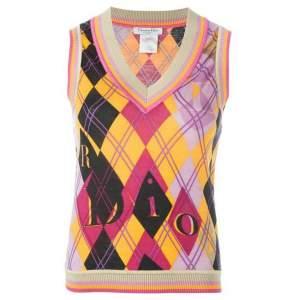 Christian Dior Multicolor Knit Top-0