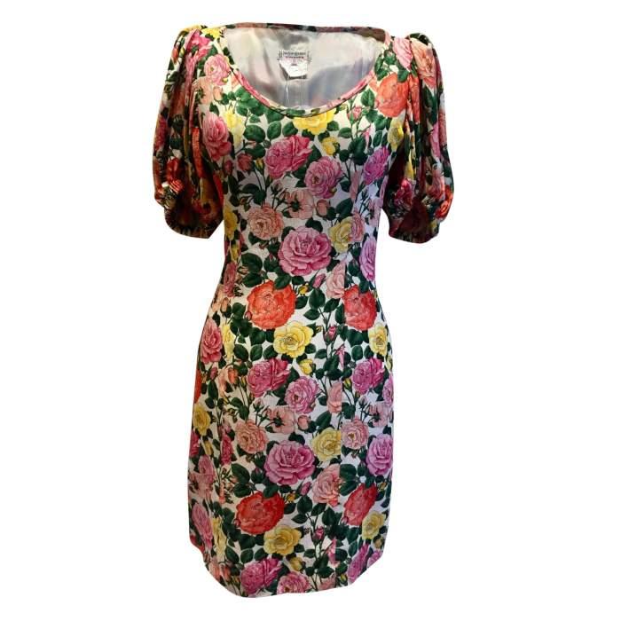 Vintage 1992 summer Dress-0