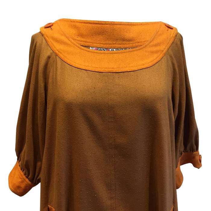 Vintage '84 silk Dress-4