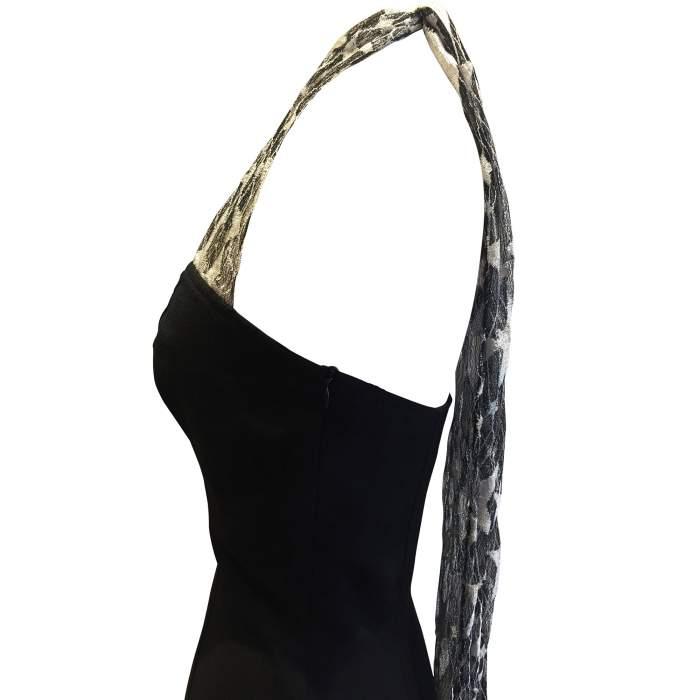 Strapless Vintage 1987 Dress-6