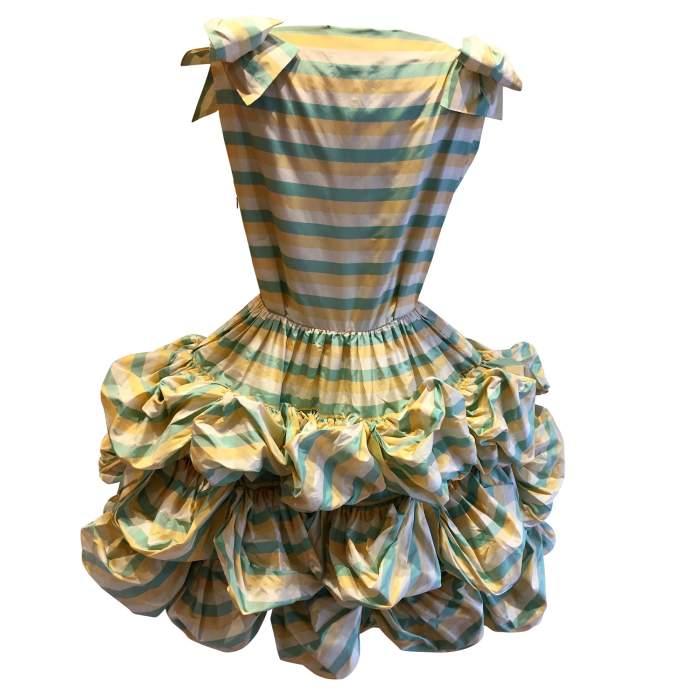 Vintage summer 1992 fluffy dress-2