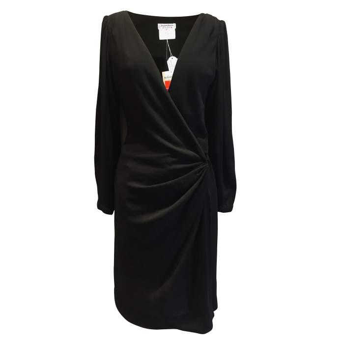 1990 Vintage black Dress-0