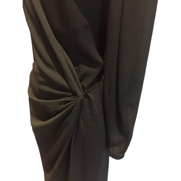 1990 Vintage black Dress-4