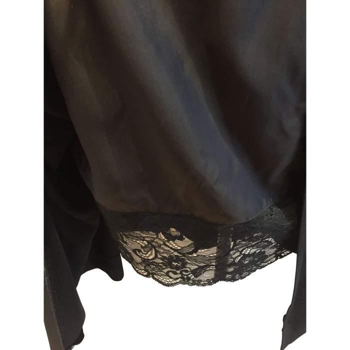 1990 Vintage black Dress-6