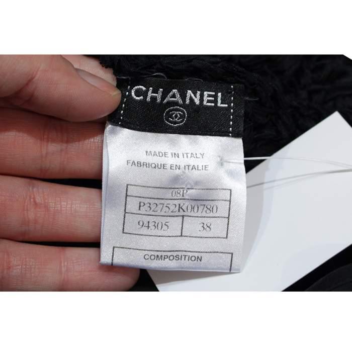 Black lace crochet Dress-10