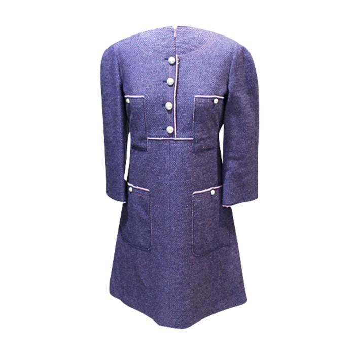Tweed Dress-0