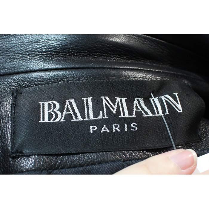 Black leather Jacket-8
