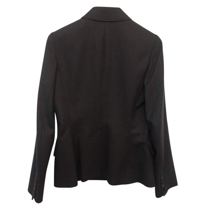 Gray wool jacket-2