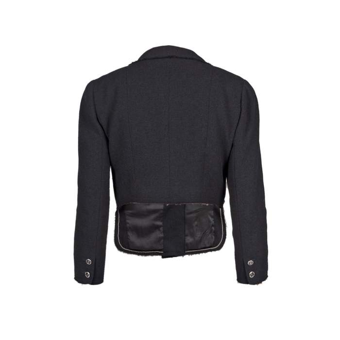 Different length wool Jacket -2