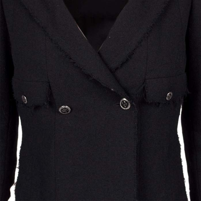 Different length wool Jacket -6