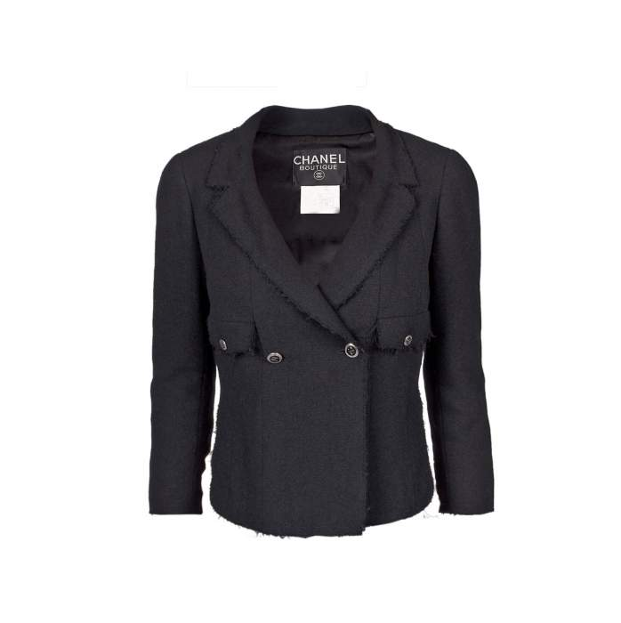 Different length wool Jacket -0
