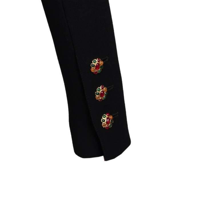 Tailored vintage wool Skirt -6