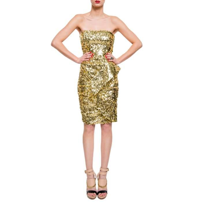 Bustier sequined Dress -6