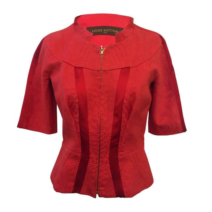 Silk cotton jacket -0
