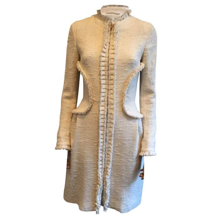 Wool and Silk coat -0