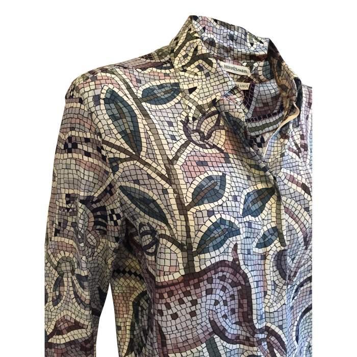 100% Silk Shirt -4