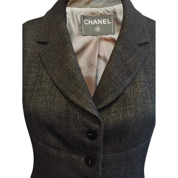 Short black and silver Jacket-4