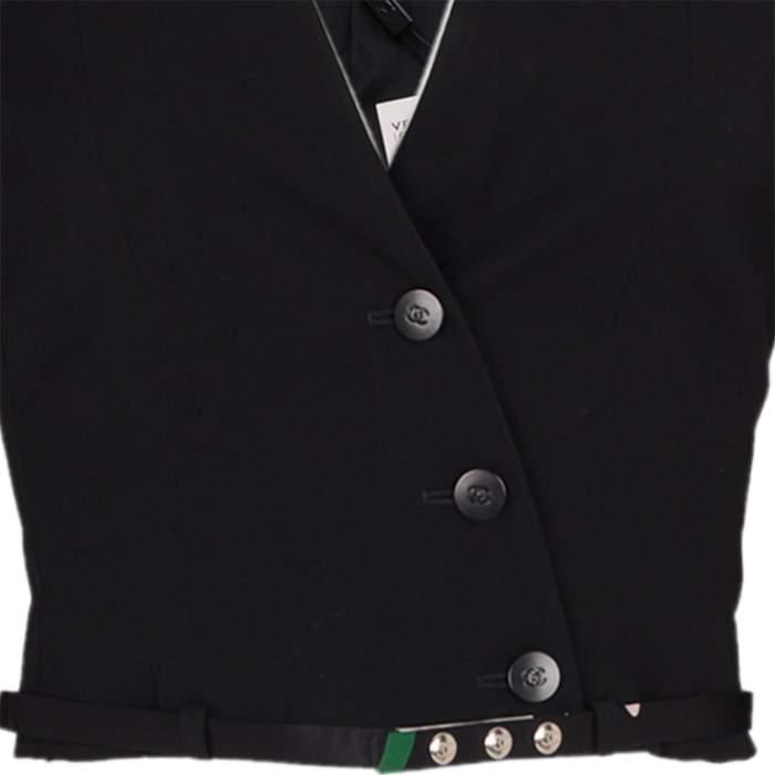 Short cross fastening wool Jacket -6