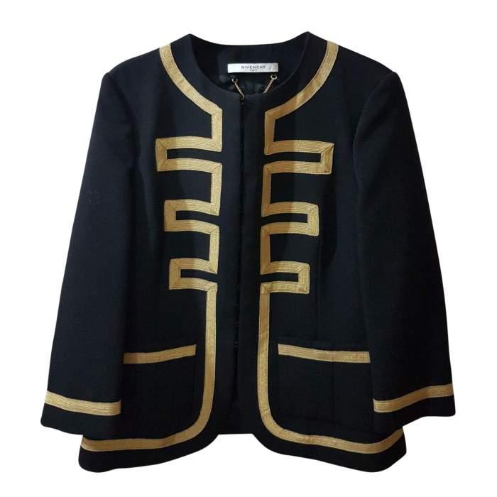 Black and golden Jacket -0