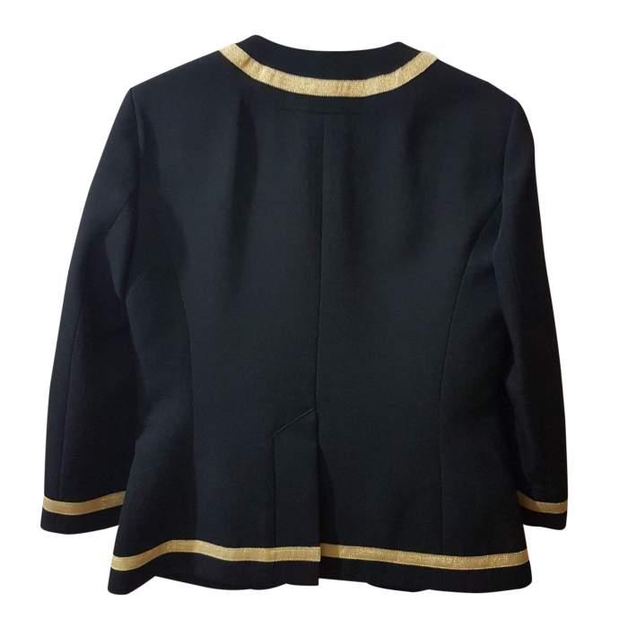Black and golden Jacket -2