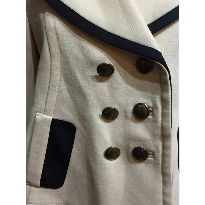 Flared wool Jacket -4