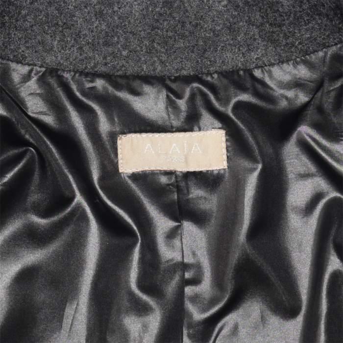 Mid length fringed wool Jacket -4
