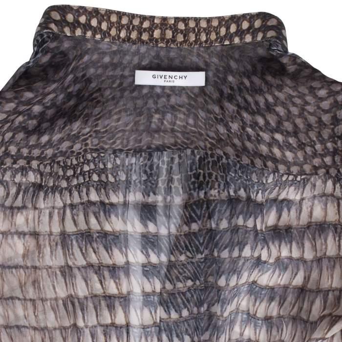 Silk printed Dress -4