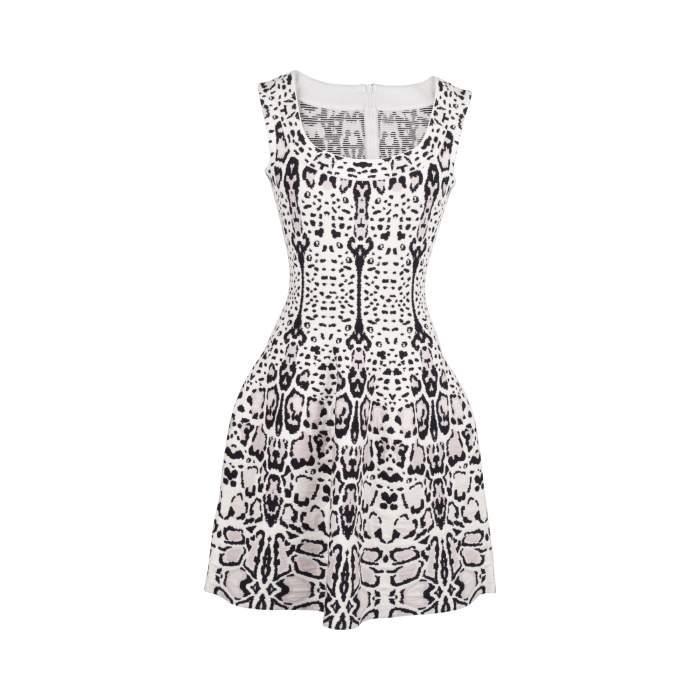 Printed Dress -0