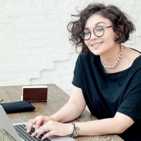 Image of female business owner