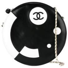 Vintage Collector Round Lambskin Shoulder Bag-0