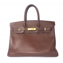Birkin 35 in Havanne Courchevel Leather-0