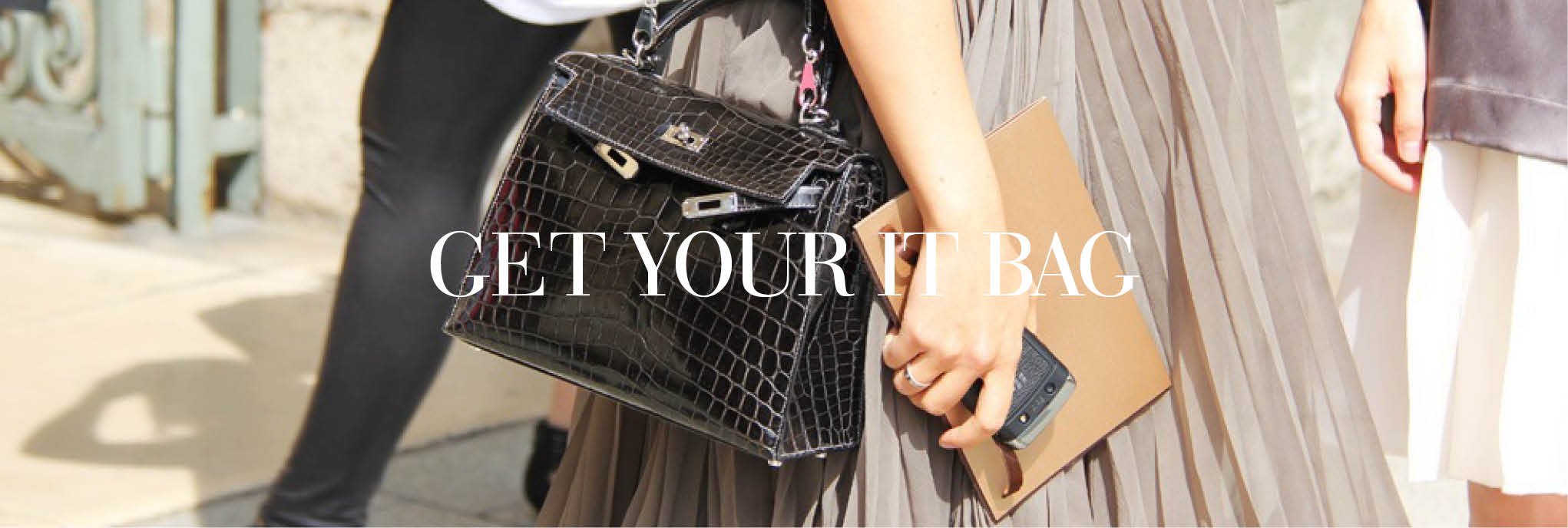 Find your pre-loved luxury IT bag on The Chic Selection
