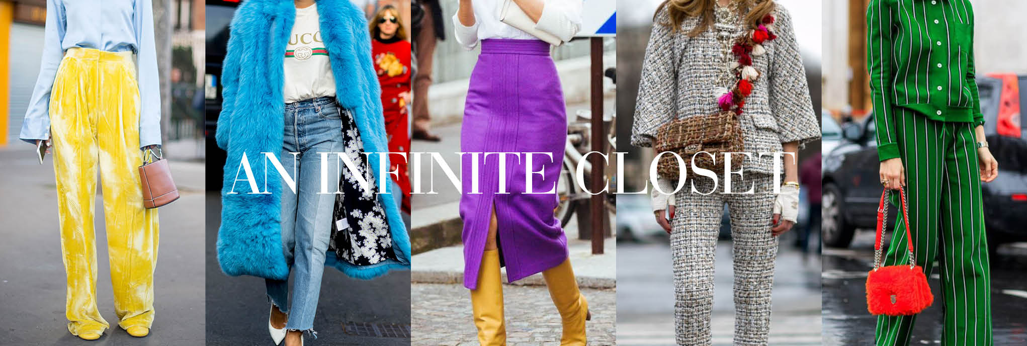 Visit an infinite closet on The Chic Selection